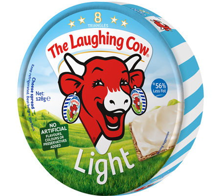 Laughing cow cheese cubes